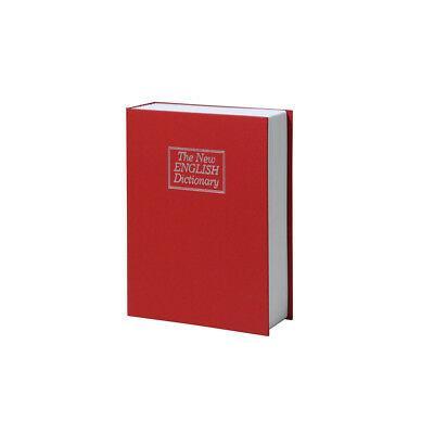 Larger Home Security Dictionary Book Safe Cash Jewelry Storage Key Lock Box Hot