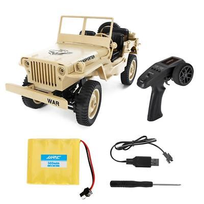 RC Military Truck Remote Control Car 1:16 4WD Crawler Vehicle Off-Road Sport Car
