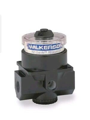 WILKERSON Air Regulator,1/2 In NPT,195 cfm,300 psi, R21-04-000