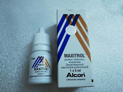 Maxitrol Eye drops 5 ml (original)  *FREE SHIPPING