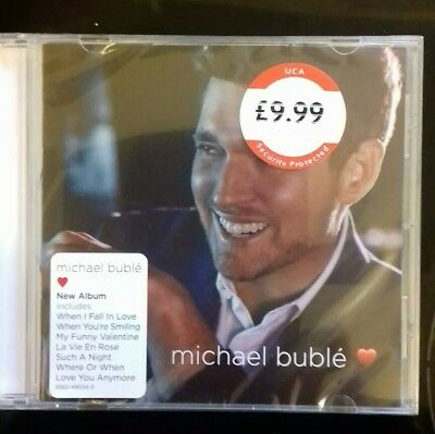 MICHAEL BUBLE LOVE CD (Released November 16th 2018)