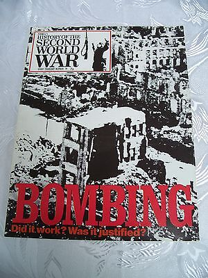 Purnells History of the 2nd World War Issue 79 BOMBING- PRISTINE CONDITION
