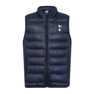 Tottenham Hotspur FC Official Football Gift Boys Quilted Hooded Winter Jacket
