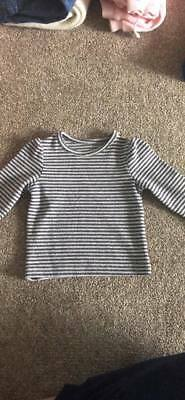 Baby Girl Nutmeg 3-6 Months Long Sleeve Top Baby Clothes
