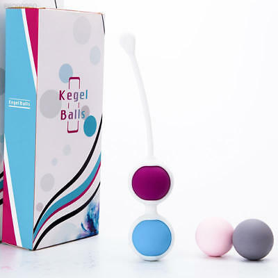 0A3F Hot Vagina Tightening Ball Weighted Wa Inner Beads Exercise 4Balls Portable