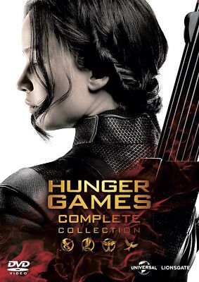 Francis Lawrence - The Hunger Games - Complete Collection [DVD] [2015]  (EN I...