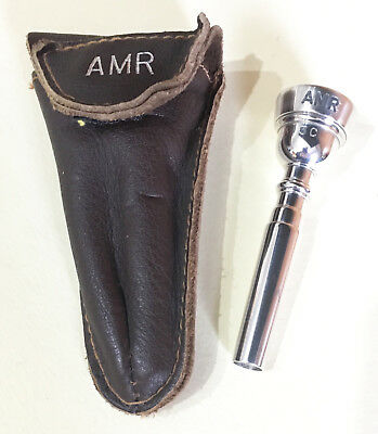 AMR Silver Plated Trumpet Mouthpiece 3C