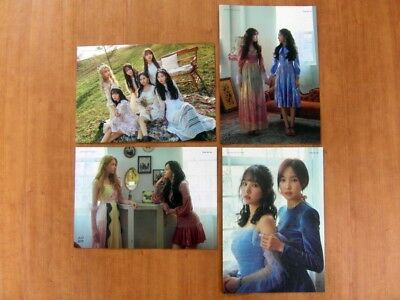 GFRIEND - Time for Us [OFFICIAL] 4 (MINI) POSTERS (11.8 x 8.3 inch) *NEW* K-POP