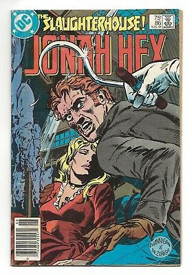 Jonah Hex #86  G/VG  1984 (1st Series)    *Free Shipping*