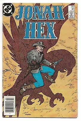 Jonah Hex #81 G/VG 1984 (1st Series)    *Free Shipping*