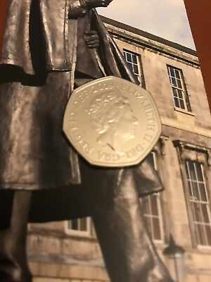 2019 Sherlock Holmes BU 50p pence Brilliant Uncirculated UK Royal Mint Coin NICE