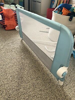 Lindam Easy Fit Folding Bed Guard - Blue (051514)