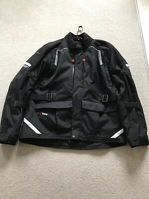 Alpinestars Andes V2 Drystar Waterproof Textile Touring Motorcycle Jacket XXL