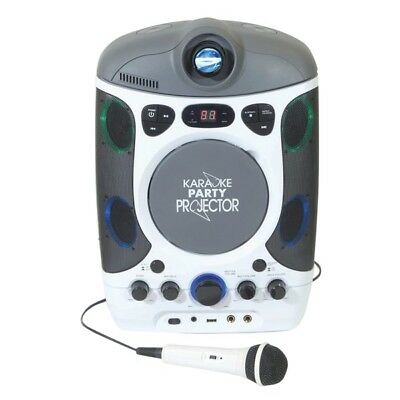 Mr Entertainer CDG Bluetooth Karaoke Player with LED Projector inc Warranty