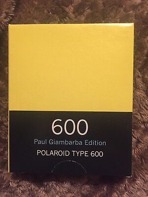 Polaroid 600 Film, Paul Giambarba Edition, Expired 10/2009 Expired Please Read