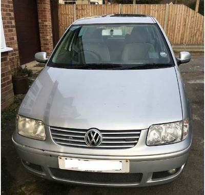 VW Polo 1.4 16v, Manual *SPARES OR REPAIRS* runs and drives MOT UNTIL 25 June 19