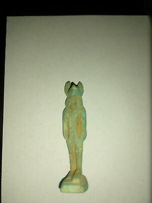 Ancient Egyptian Anubis Statue Artifact 300 BC