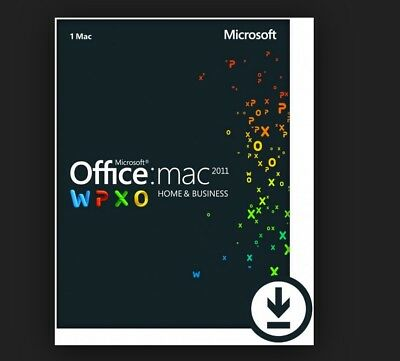 Microsoft Office for Mac 2011 Home & Business