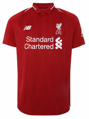 Liverpool Home Shirt 2018/19 Size S to 4XL Adult Sizes