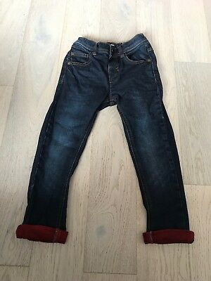 Boys Next Dark Blue Jeans Age 4-5 Perfect Condition