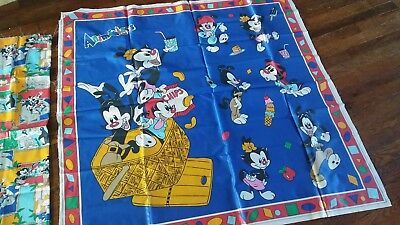 Animaniacs warner brothers Quilt Panel Fabric 1995 sewing quilting