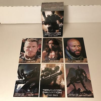Terminator Salvation - Complete Trading Card Set (90) - Topps 2009 - NM