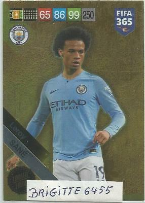 Panini Adrenalyn XL - fifa 365 2019 Limited Edition Sané  Made in Brasil