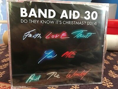 Band Aid 30- Do They Know It's Christmas?- Single