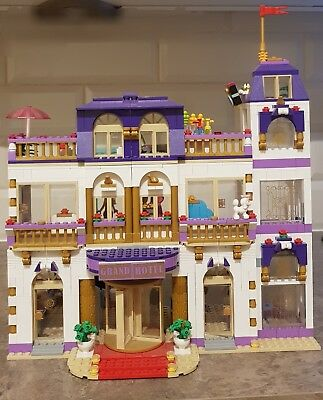 Lego Friends Heartlake Grand Hotel London Bus And More Bundle With