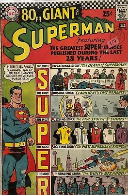 Superman Giant 80 Pages