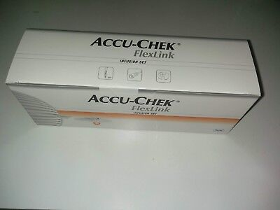 Accu Chek FlexLink 8mm / 60cm Infusion Sets by Roche Expiry 2019-10-1