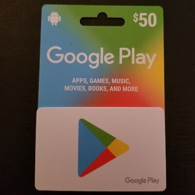 $50 Google Play Gift Card for Android (Free Shipping)