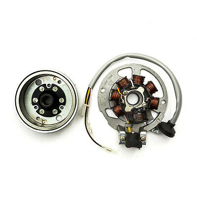 Stator Plate Kit Compatible With Apache 100cc Quad Bike Many Two Stroke Scooters