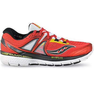 SAUCONY TRIUMPH ISO 3 Scarpe Running Uomo Neutral A3 RED YELLOW S20346-10 fb1fba0a599