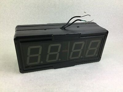 Primex Wireless Inc  SNS Led  Clock --  Double Sided Clock