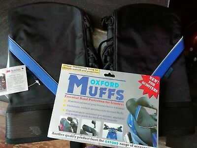 oxford motorcycle handlebar muffs