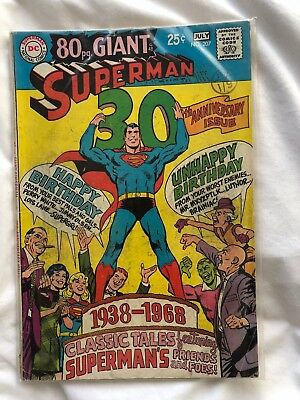 Superman 80 Page Giant