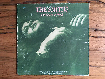 """THE SMITHS """"The Queen Is Dead"""" (1986) LP Rough Trade RGH 20508 Gatefold"""