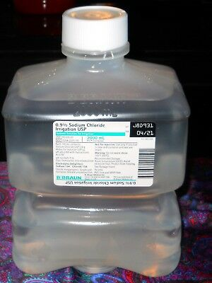 1 Sterile 0.09% Sodium Chloride USP Irrigation 2000 ml Sealed