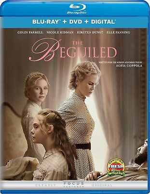 The Beguiled (Blu-Ray/DVD/Digital)  BRAND NEW