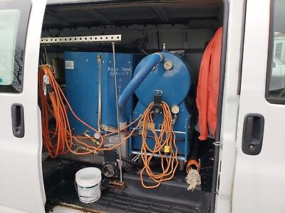 Bane Clene truck mount carpet cleaning system System