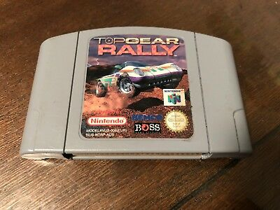 Top Gear Rally PAL Nintendo 64 Game *Cartridge only* GC N64 Topgear
