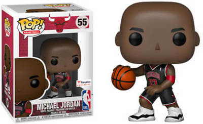 Funko Pop Michael Jordan Chicago Bulls Fanatics Exclusive Preorder w/Protector