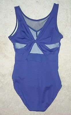 Bloch Leotard Mesh Back size S