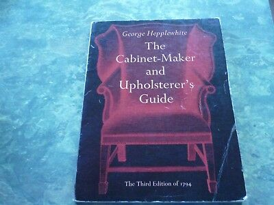 The Cabinet-Maker and Upholsterer's Guide george Hepplewhite used