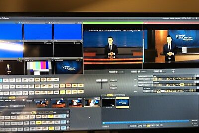 NewTek TriCaster TCXD40 All-in-One Live Production  with Road Case and Extras