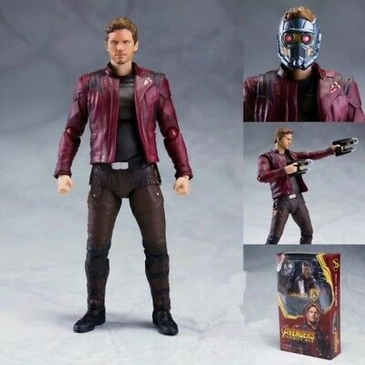 Avengers 3 Infinity War STAR-LORD SHF SHFiguarts PVC Figure Toy Doll Collection