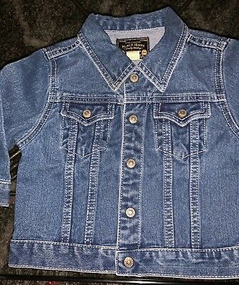 THE CHILDRENS PLACE unisex denim jean jacket size 18 Month Baby/ Toddler