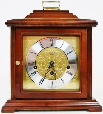 Beautiful Vintage Franz Hermle Mahogany Musical Westminster Chime Mantel Clock
