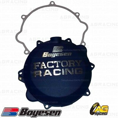 Boyesen Factory Racing Blue Clutch Cover For KTM Husaberg Husqvarna 250 300
